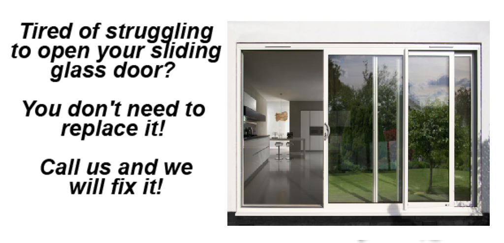Residential Sliding Glass Doors Repair Door Roller Replacement